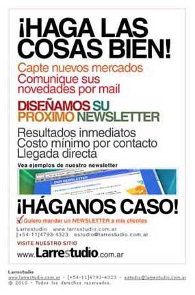 Self-promotion<br>© Diseño Martín Larre